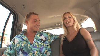 Holly goes out for schlong.,Blonde sweet talked into a van.,Backseat man gets Ho