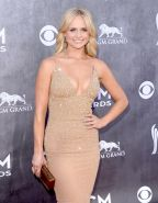 Miranda Lambert showing huge cleavage at the 49th Annual Academy Of Country Musi