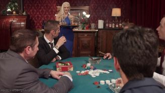 Bill Bailey raises the stakes during a high rolling poker game with his milliona