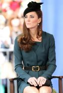 Kate Middleton showing royal upskirt at Queen Elizabeth II's Diamond Jubilee Tou