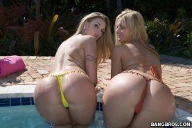 Hot big asses fucking and sucking in the jungle