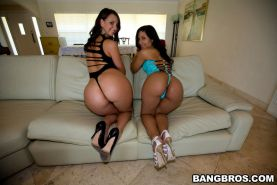Hardcore babes with big asses fucking and sucking hard