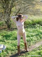 Teen public pissing and uk amateur girl next door babe Bryony peeing outdoors in