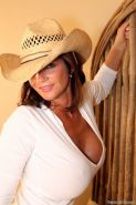 Busty MILF Deauxma Loves to ride cowboys in bed xx