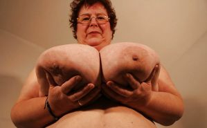 amateur grannies showing off their big boobs #67196053