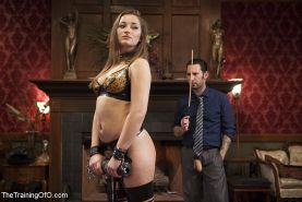 Dani Daniels busty subgirl is rope bound and fucked by maledom Tommy Pistol