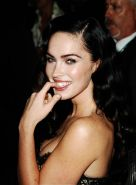Megan Fox gorgeous tease posing in sexy dress