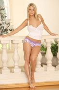 Ashlynn Brooke in her polka dot panties