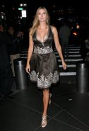 Ivanka Trump busty in low cut dress at FFANY Shoes On Sale benefit in NYC