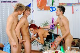 Bisexual orgy with hot bi guys and girls fucking