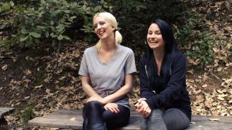 Cherry Torn & Veruca James take to the deep woods for some rest & relaxation. Th