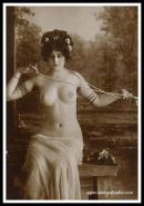 Vintage rare and exclusive antique ladies exposed