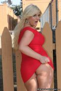 Busty blonde Julie Cash on black cock in fuck acts