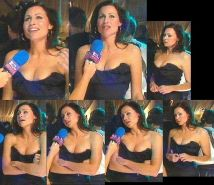 witty British actress Minnie Driver nude pictures