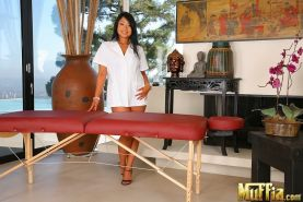 Kya Tropic is proud of her asian massage skills