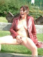 Nude in public crazyness and Outdoor public pissing by mature amateur babe Shaz  #78603241