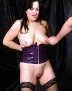 Extreme pussy torture and bdsm domination of mature uk slavegirl in latex and sp