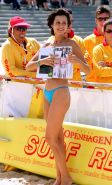 Catherine Bell in bikini and posing very sexy pictures
