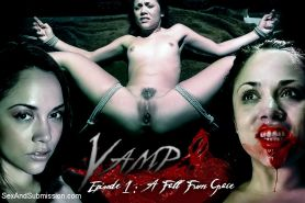 Kristina Rose is bound by the bdsm vampire group