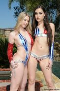 Sunny Lane & Sasha Grey With the King Of Coochie!