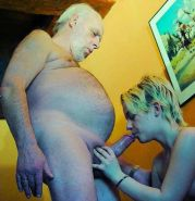 Young women get pumped hard by kinky old men
