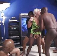 Sexy wife drilled by a horny black dude with a big dick
