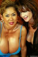 Busty MILFS Deauxma & Minka   -  asian in Lingerie