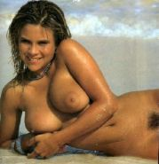 Samantha Fox nude topless and hairy pussy
