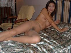 Kinky Chinese bitches in stockings stripping naked