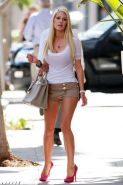 Heidi Montag exposing her sexy body and huge boobs