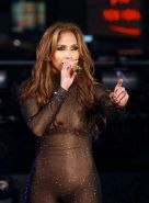 Jennifer Lopez looking hot in one piece outfit on stage paparazzi pics