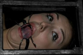 Sister Dee gets severely bound and punished in dark dungeon