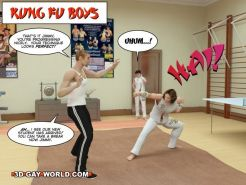Kung fu boys 3D gay comics gay hentai cartoons gay twink sport