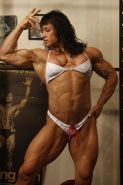 Massive Female Bodybuilder with amazing hot muscle body