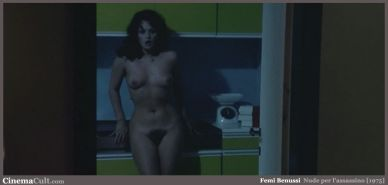 Italian cult actress Femi Benussi nude from a vintage movie #75159044