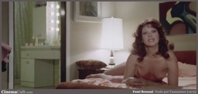 Italian cult actress Femi Benussi nude from a vintage movie #75159047