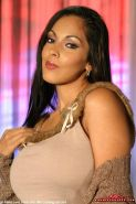 Nina Mercedez, so this is where you want me to strip for you? Let me take my big