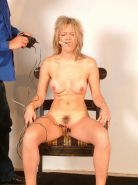 Screaming bdsm slave Emma Louise in pussy pain and electro torments