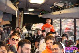 College teen gf flashing on bus
