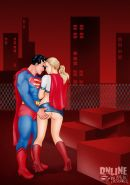Superman sex comics
