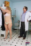 Mature Stazka having pussy gyno examined by doctor