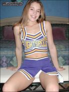 Tawnee Stone strips out of her cheerleading outfit