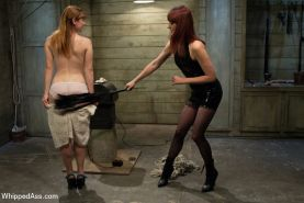 Claire is curious about lesbian BDSM and is eager to push her limits. Maitresse