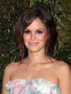Rachel Bilson wearing short floral tube dress at the NRDC Chanel Dinner in Los A