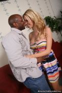 Busty Jessie Rogers in interracial anal fuck drill