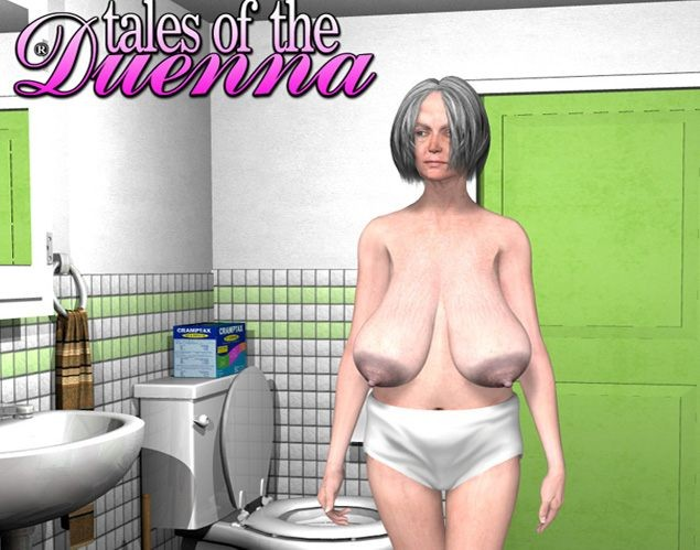 Granny hairy pussy in shower 3D erotic comics #67052015