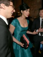 Sarah Silverman showing huge cleavage at the Comedy Central's 'Roast of James Fr