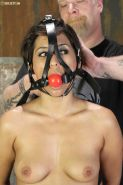 Reena Sky hardcore bondage. Whipped and cumming