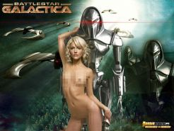Movie-themed fake pictures of Tricia Helfer and Natalie Portman