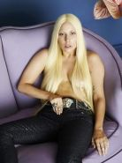 Lady Gaga without makeup for Mert and Marcus topless photoshoot